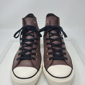 Converse Shoes - Converse Brown Leather High Tops